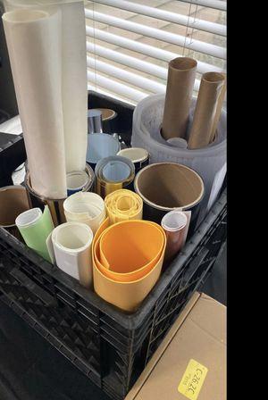 Heat press vinyl transfers and cutting mat for Sale in Suwanee, GA