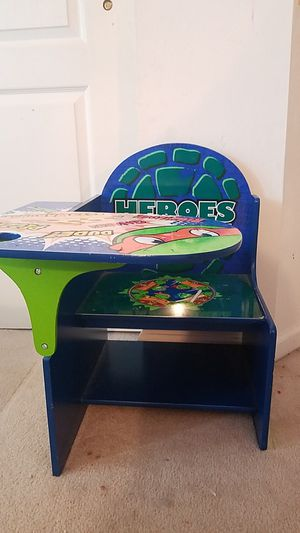Kids desk-Turtle Power for Sale in Chesapeake, VA