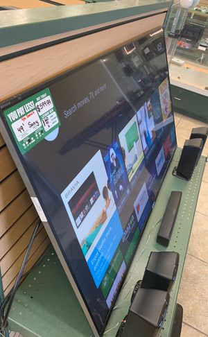 49' Sony Bravia 4K Smart TV(No Stand) for Sale in Austin, TX