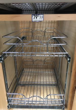 Kitchen cabinet organizer by rev-a-shelf. In perfect condition for Sale in San Diego, CA