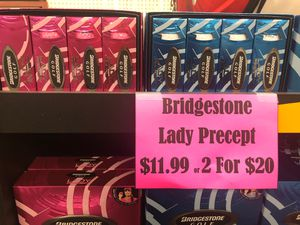 Bridgestone Lady Precept Women's Golf Ball pink and white for Sale in Portland, OR