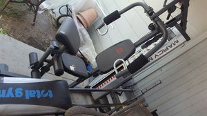 Total Gym, Marcy mwm 988, $50 each for Sale in San Antonio, TX