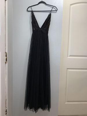 Black sequins dress for Sale in Los Angeles, CA