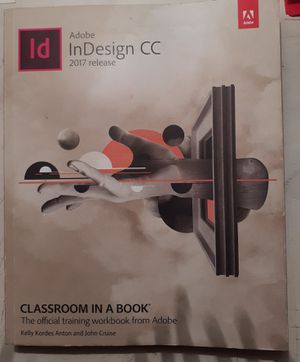 Adobe Indesign CC, 2017 release for Sale in Oceanside, CA