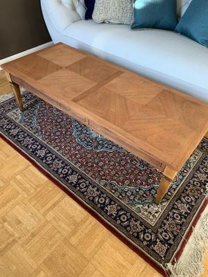 4 foot long antique coffee table for Sale in Modesto, CA