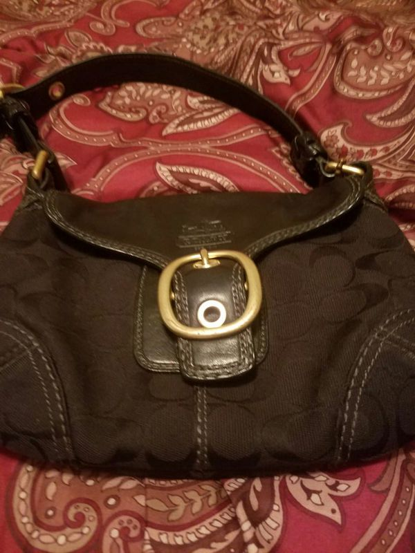 Small hobo coach bag
