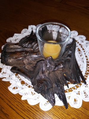 Driftwood candle holder for Sale in Woodburn, OR