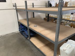 Uline industrial storage racks for Sale in Santa Fe Springs, CA