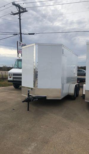 Enclosed cargo trailer 6x12 tandem for Sale in Lancaster, TX