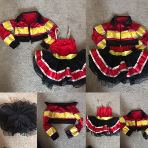Toddler Fire Girl Costume for Sale in Boston, MA
