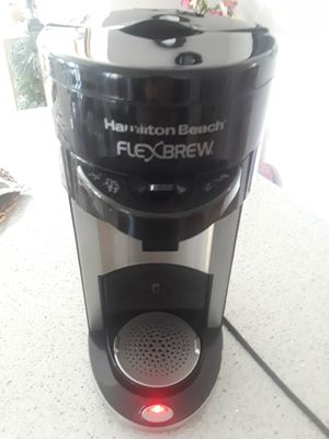 Hamilton beach flexbrew single coffee maker for Sale in Brooklyn, NY