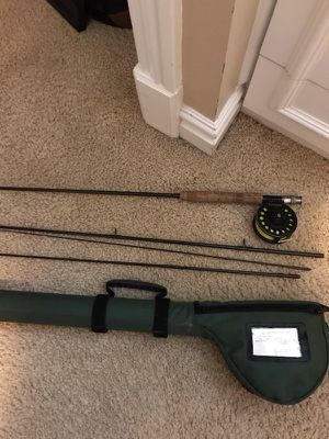 Prestige 4 piece fly fishing rod with case!!! Sell for cheap!! for Sale in Salt Lake City, UT