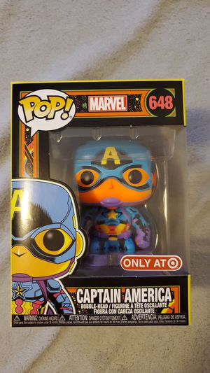Funko Captain America blacklight. Mint box for Sale in Beaverton, OR
