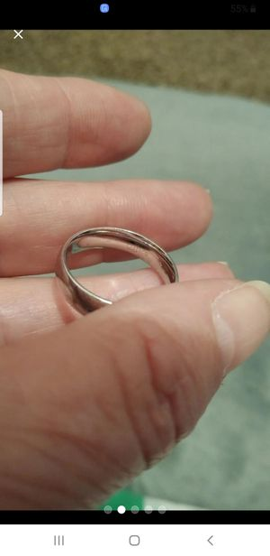 Vintage Sterling Silver band, size 8 (heavy) for Sale in Belle Isle, FL