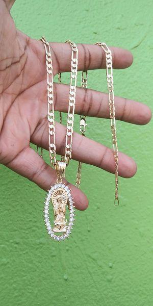 🚚💨I deliver🚀I Ship...😍😍14kt 💎Gold filled 💦 6mm Necklace charm and bracelet 🌟🌟🌟🌟🌟 for Sale in Hollywood, FL