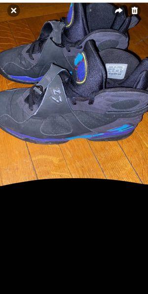 Jordan 8 'Aqua' size 10.5, fair condition, no box, asking 100 for Sale in Binghamton, NY