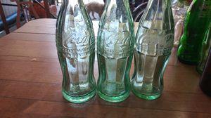 Coca Cola trademark antique bottles for Sale in San Jose, CA