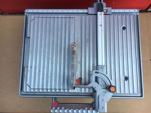Rigid 6.5 Amp Corded 7 in. Table Top Wet Tile Saw for Sale in Redlands, CA