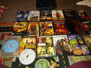 DVD player & 19 DVDs for Sale in Woonsocket, RI
