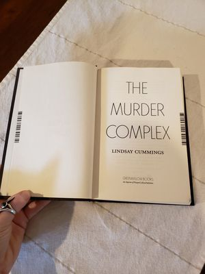 The Murder Complex Hardcover Book for Sale in Maitland, FL