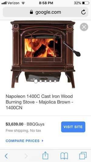 Wood burning stove for Sale in MEADOW LAKE, AK