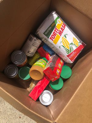 Free food box for Sale in Gresham, OR