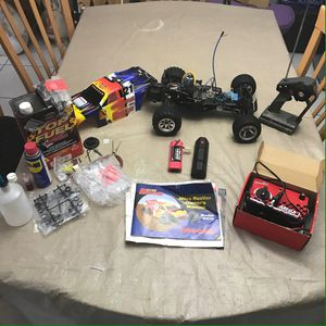 TRAXXAS Nitro Rustler RTR Stadium Truck and everything in the pictures for Sale in Pembroke Pines, FL