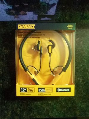 Dewalt bluetooth headphones for Sale in Portland, OR