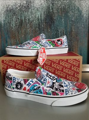 VANS Classic Slip On Mash Up/Stickers for Sale in NJ, US