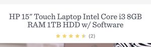 Hp refurbish laptop Touch i3 8gb, for Sale in UPR MARLBORO, MD