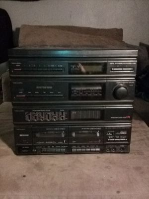 Old-school stereo system for Sale in Fresno, CA