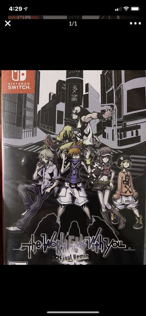 Nintendo switch the world ends With you for Sale in Wildomar, CA