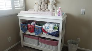 Changing table, white for Sale in Long Beach, CA