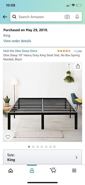 King bed frame for Sale in Cherry Valley, CA