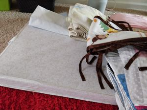 Baby crib bed and accessories for Sale in Broadlands, VA