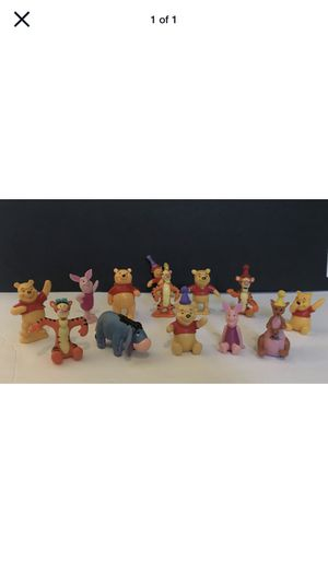 Lot 14 Disney Winnie The Pooh Figures Piglet, Tigger, Eeyore And More!! for Sale in Virginia Beach, VA