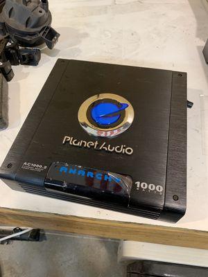 Plant Audio Anarchy 1000 watt amp for Sale in Pinetop, AZ