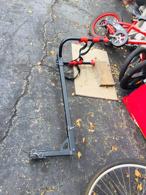 Trailer hitch bike carrier for Sale in Davie, FL