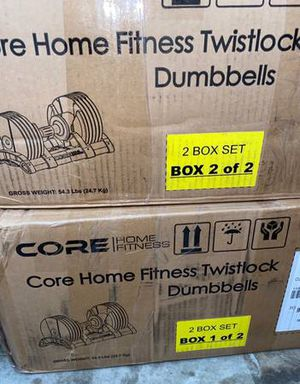 Core Home Adjustable 50LB Weight Set New for Sale in Edgewood, FL