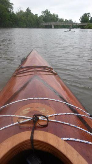 14' hand built wood kayak for Sale in Mount Clemens, MI