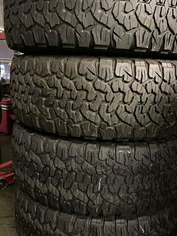 285/65r18 BFGoodrich Ko2 Tires En Exelentes Condiciones De Vida Las 4 for Sale in Lakewood,  CA