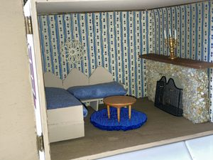 Dollhouse living room in a box for Sale in White Plains, NY