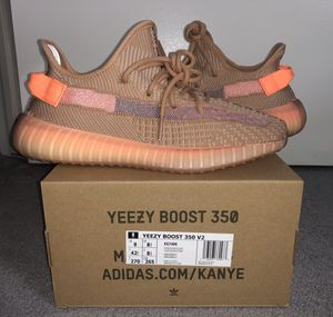 Adidas Yeezy Boost 350 V2 Clay size 9 for Sale in Rockville, MD