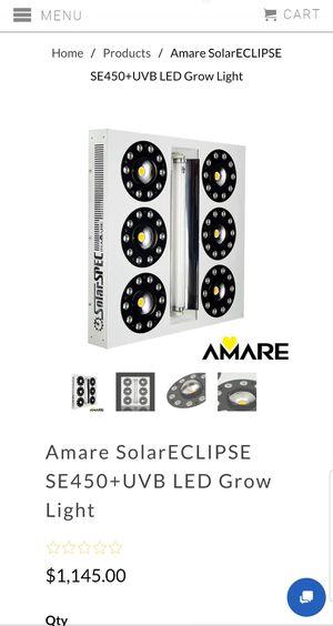 Amare SolarECLIPSE SE450+UVB LED Grow Light for Sale in Las Vegas, NV