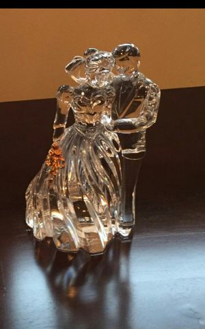 Lenox crystal with gold statue for Sale in Old Bridge Township, NJ