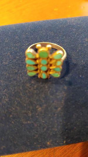 Beautiful antique Navajo ring butterfly for Sale in Phoenix, AZ