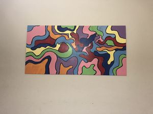 Abstract wood painting for Sale in Silver Spring, MD