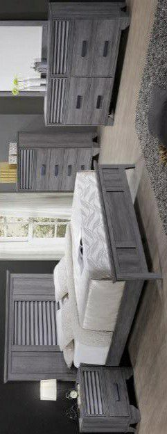 🍃the price is nice🍃Sarter Gray Panel Bedroom Set for Sale in Jessup, MD