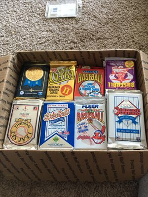 (108) Baseball cards packs lot for Sale in North Olmsted, OH
