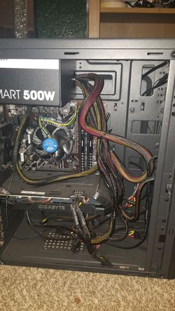 Unfinished pc needs drivers and operating system for Sale in Fallbrook,  CA